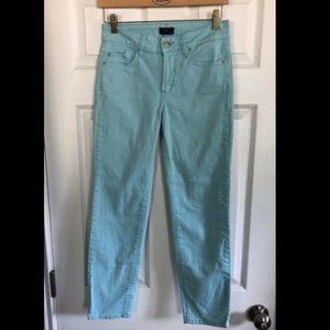 NYDJ Light Blue Ankle Jeans - Size 0